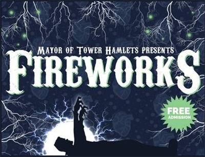tower Hamlets Fireworks Night